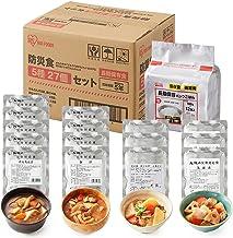 アイリスオーヤマ 非常食 5年保存 3日分 5種 27個セット (けんちん汁、豚汁、肉じゃが、筑前煮、パックごはん)