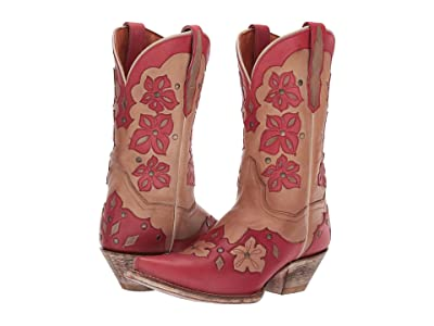 Dan Post Laurel (Tan Leather) Cowboy Boots