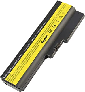 ARyee G430 Battery Compatible with Lenovo ThinkPad 3000 G430 G530 N500 G550 G450(5200mAh 11.1V)