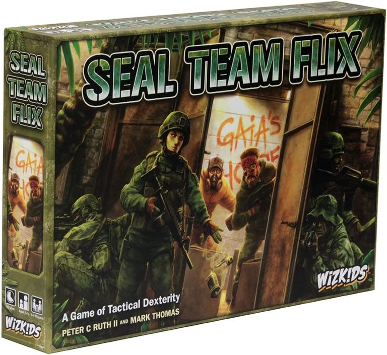 WizKids Seal Miami 2021 spring and summer new Mall Team Flix Game Board