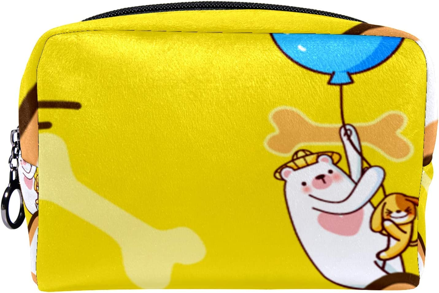 Cosmetic Bag Houston Mall Travel Toiletry for Recommendation Daily Women Clo Zipper Portable