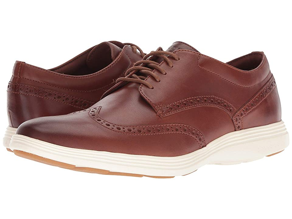 Cole Haan Grand Tour Wing Ox (Woodbury Leather/Ivory) Men