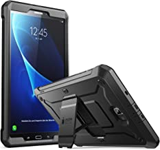 SupCase [Unicorn Beetle PRO Series Case Designed for Samsung Galaxy Tab A 10.1 inch, with Built-in Screen Protector for Samsung Galaxy Tab A 10.1 inch 2016 (SM-T580/T585) No Pen Version(BLK)