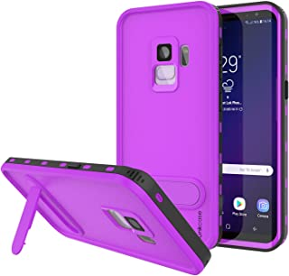 PunkCase Galaxy S9 Waterproof Case, [Kickstud Series] [Slim Fit] [Ip68 Certified] [Shockproof] [Snowproof] Armor Cover W/B...