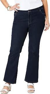 Women's Plus Size Tall True Fit Straight Leg Jeans