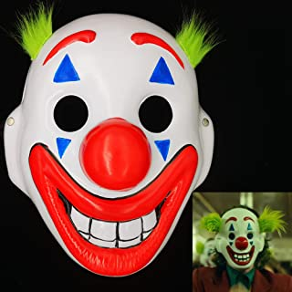 2019 Joker Mask Arthur Fleck Masks Cosplay DC Movie Clown Halloween Costume Mask