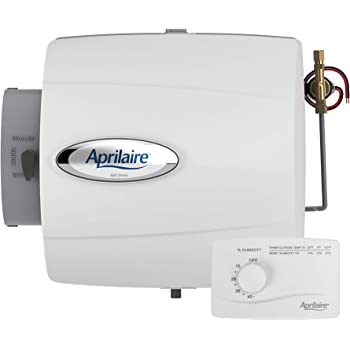 Aprilaire 500MZ 500M Whole Home Humidifier, Manual Compact Furnace Humidifier, Large Capacity Whole House Humidifier for Homes up to 3,000 Sq. Ft.