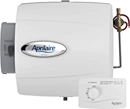 Aprilaire 500M Whole House Humidifier, Manual Compact Furnace Humidifier