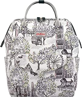 Women Wellesley Blossom Embroidered Backpack Female Imported Spacious Backpack Cath Kidston Smart Zipped Backpack Stylish /& Fashionable European Style Soft Blue Teenage Girl Vintage Backpack