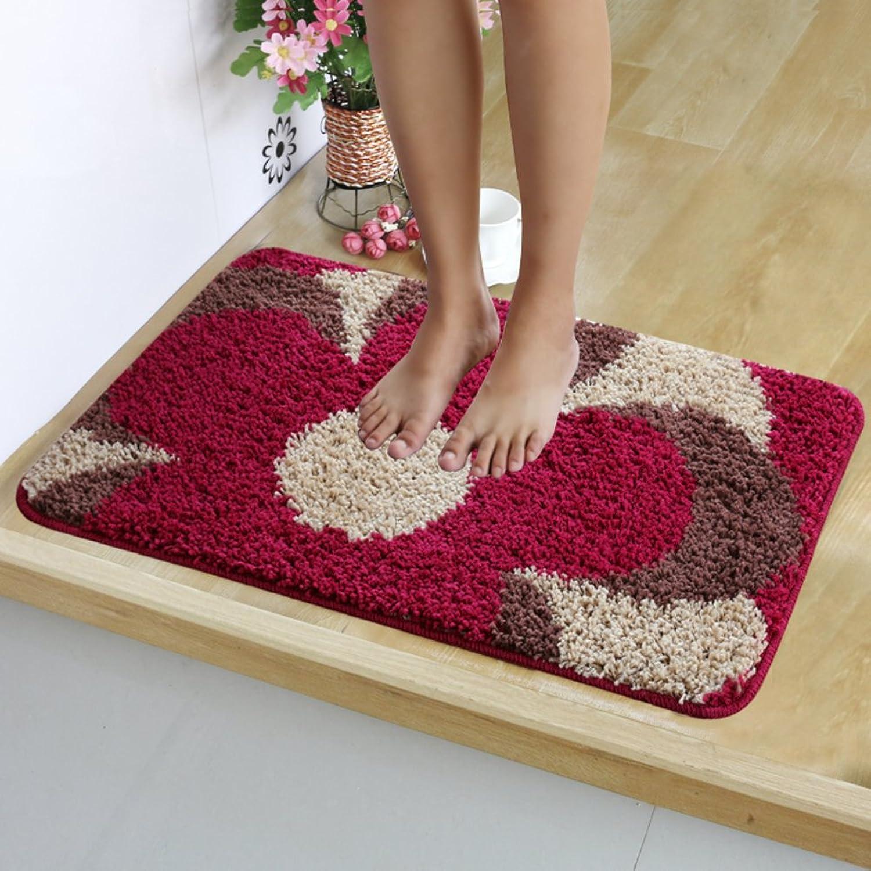 Indoor mats Hall Suction mat Non-Slip mat,Floor Doormat,Entrance Doormat-D 120x120cm(47x47inch)