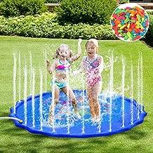 Faburo Splash Pad Sprinkler Play Mat Water Toys, 67