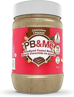 PB&Me Powdered Peanut Butter, Keto Snack, Gluten Free, Plant Protein, Chocolate, 16 Oz