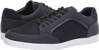 Calvin Klein Men's Maxen Rubberized Leather Nylon Ankle-High Sneaker