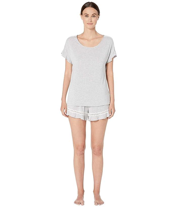 Kate Spade New York Modal Jersey Short Pajama Set (Grey Heather) Women