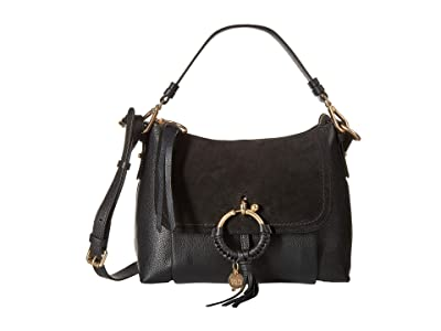 See by Chloe Joan Small Satchel (Black) Satchel Handbags