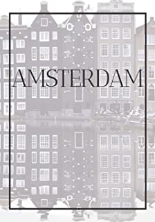 Amsterdam: A decorative book for coffee tables, bookshelves, bedrooms and interior design styling: Stack International cit...
