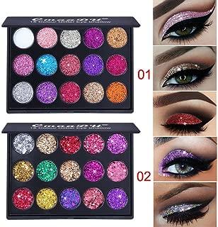 Makeup Palette,Shimmer Glitter Eye Shadow Powder Palette Matte Eyeshadow Cosmetic Makeup