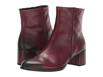 ECCO Shape 35 Block Ankle Boot (Bordeaux) Women
