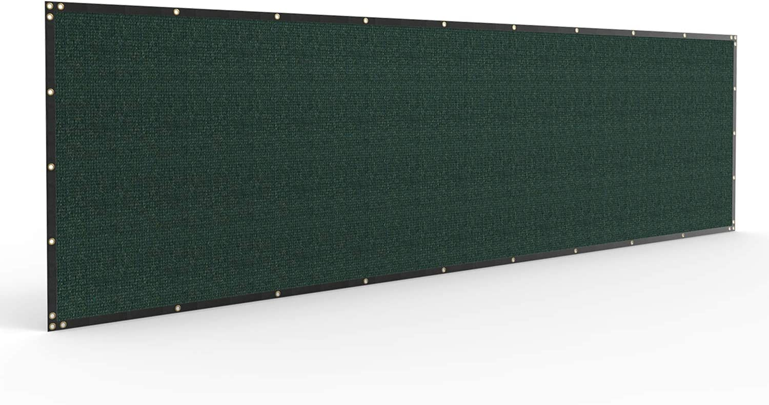 Windscreen4less Lowest price challenge Heavy Duty Privacy Screen Color Solid in Max 69% OFF Fence G