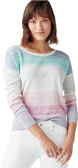 Heather Multi Stripe