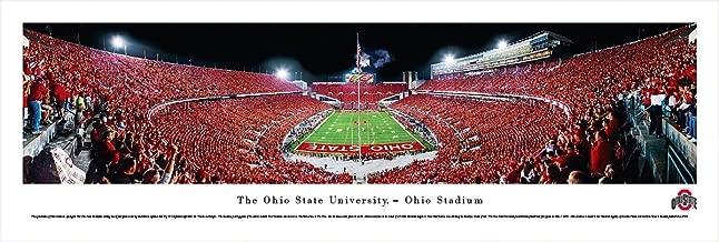 Ohio State Football - End Zone View - Blakeway Panoramas Print