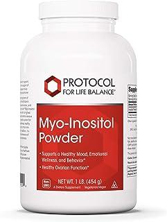 Protocol For Life Balance - Myo-Inositol Powder - Supports a Healthy Mood, Emotional Wellness, Behavior and Ovarian Functi...