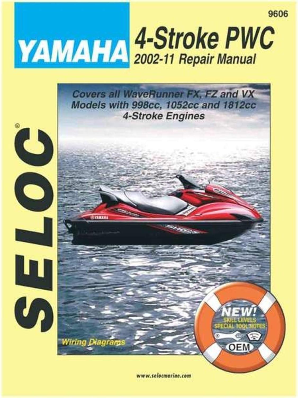 Sierra 18-09606 Sea-Doo 4-Stroke Watercraft outlet Repair Personal Manu free