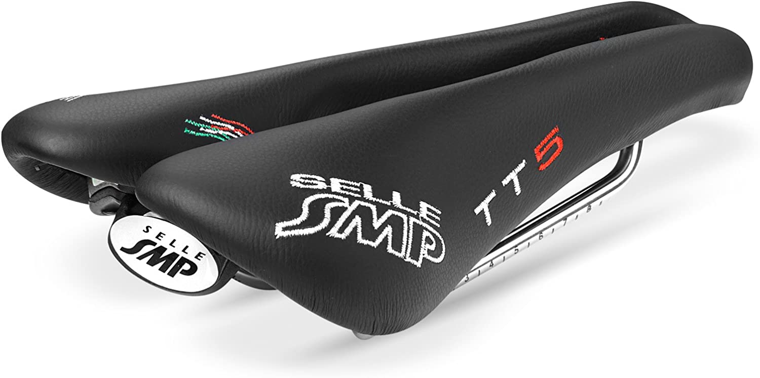 NEW Selle SMP TIME TRIAL Bicycle Saddle Seat  TT5 Black . . . Made in