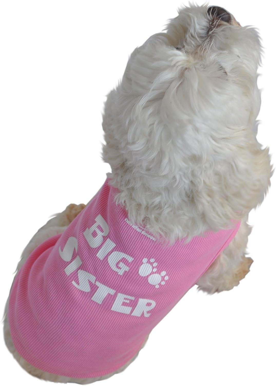 Pink Doggie Tank Top Big Sister