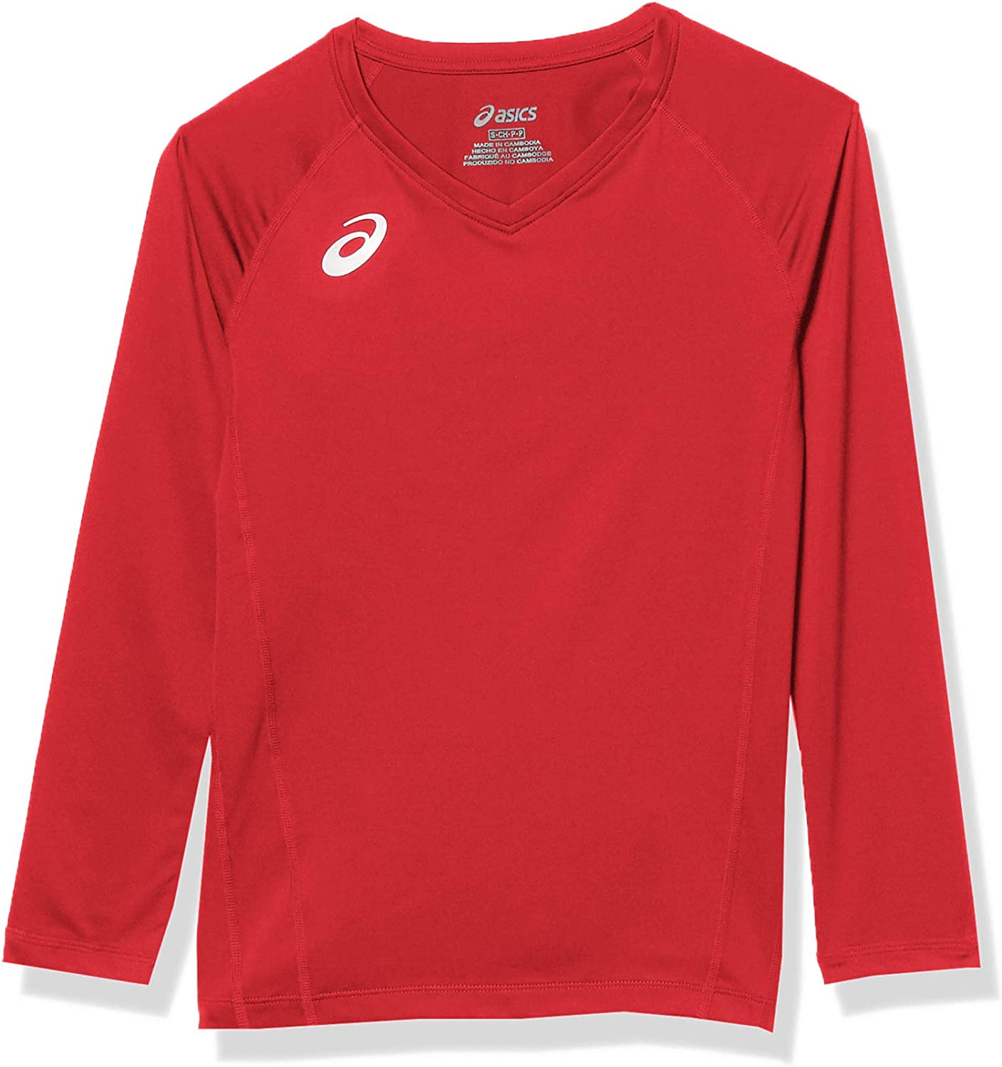 ASICS Girls' Youth Spin Serve Limited price sale Jersey Volleyball Short service Sleeve