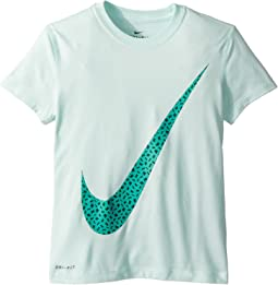 Nike Kids Dry Legend Swoosh Spray Tee (Little Kids/Big Kids)