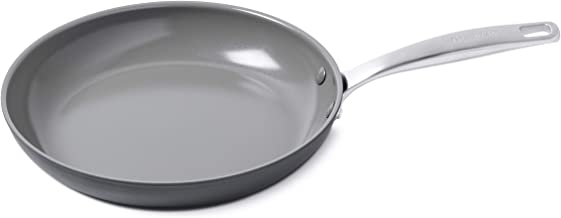 "GreenPan CC002452-001 Chatham Healthy Ceramic Nonstick, Frying Pan, 11"", Gray"