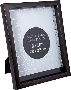 "Truu Design - Marco metálico para pared, negro pizarra, 8"" x 10"", 1, 1"