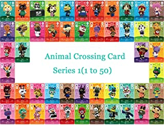 Animal Crossing Card NTAG215 Printed NFC Card Compatible Series 1 (1 to 50) Pick from The List