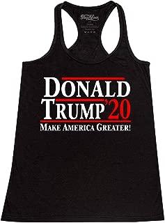 Donald Trump 2020 Women's Racerback Tank Top Slim Fit
