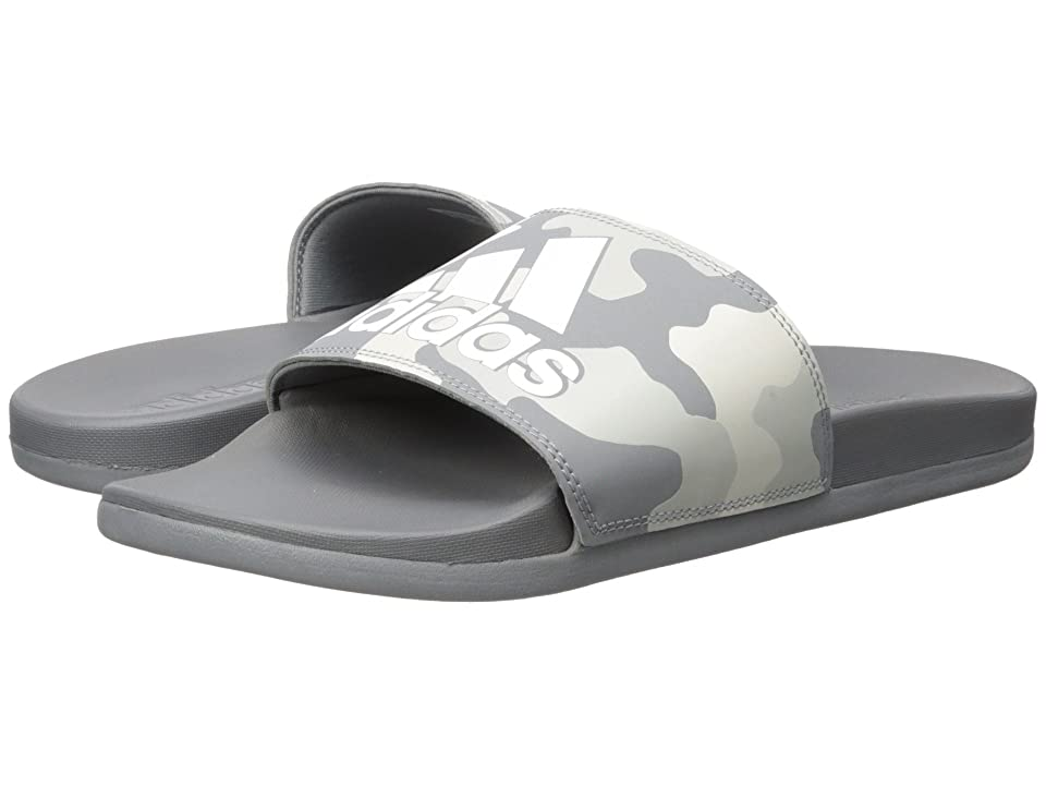adidas Adilette CF+ Link GR (Grey 3/White/Grey 2) Men