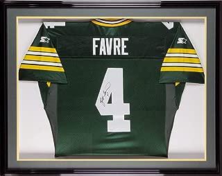 Brett Favre Signed Jersey - Starter Framed BAS - Beckett Authentication - Autographed NFL Jerseys