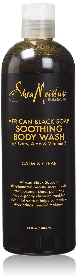 くま私たち自身理容師Shea Moisture African Black Soap Body Wash 385 ml by Shea Moisture