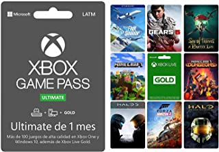 Xbox Game Pass Ultimate 1 mes - Standard Edition - Xbox One