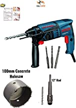 Bosch GBH 200 Rotary Hammer With 100mm Concrete Holesaw for Drilling on Wall,Concrete,Brick By Tools Centre