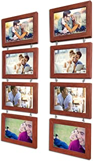 Art Street Hanging Photo Frame Charming Chain - Set of 8