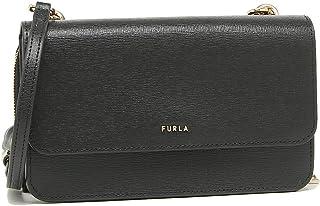 [フルラ] ショルダーバッグ リーヴァ Lサイズ お財布ショルダー お財布ポシェット ミニバッグ レディース FURLA EL40 EAZ9LDO B30 AFR000 (23)NERO(O6000) [並行輸入品]