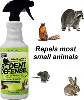 Exterminators Choice Small Animal Protection Rodent Repellent for Rodents, Rats Squirrels mice Nesting/Chewing-All Natural-Rats, Squirrels & Others.