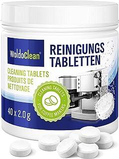 Tablette de nettoyage 40x pastilles pour machine à café entièrement automatiques