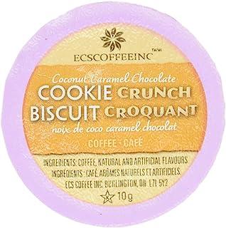 ECS Coffee Coconut Caramel Chocolate Cookie Crunch Coffee, 24 Count