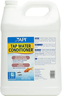 tap water for fish pond