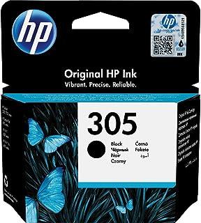 comprar comparacion HP 305 3YM61AE, Negro, Cartucho Original de Tinta, Compatible con impresoras de inyección de Tinta HP DeskJet Serie 2700, ...