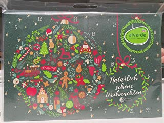 Alverde Naturkosmetik Adventskalender 2021, veel leuke verzorgingsproducten