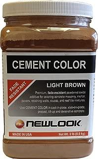 CEMENT COLOR 2 lb. Light Brown Fade Resistant Cement Color