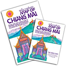 Nancy Chandler's Map of Chiang Mai, 22nd Edition